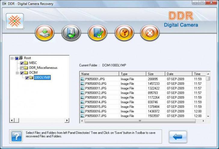 โปรแกรมกู้ข้อมูลจากกล้องดิจิทัล Deleted digital photo Recovery