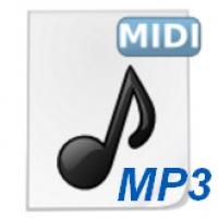 MIDI to MP3 Maker (โปรแกรมแปลงไฟล์ MIDI เป็น MP3)
