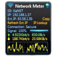Network Meter (โปรแกม Network Meter ตรวจสอบรายละเอียด WiFi)