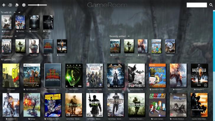 โปรแกรมรวมเกมส์ GameRoom