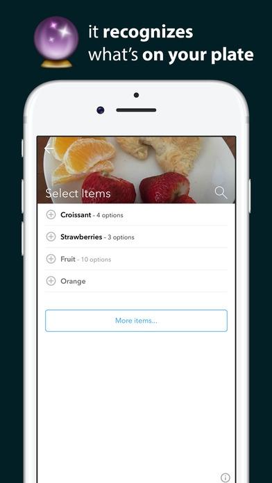 App ตรวจสอบแคลอรี่Bitesnap Photo food journal