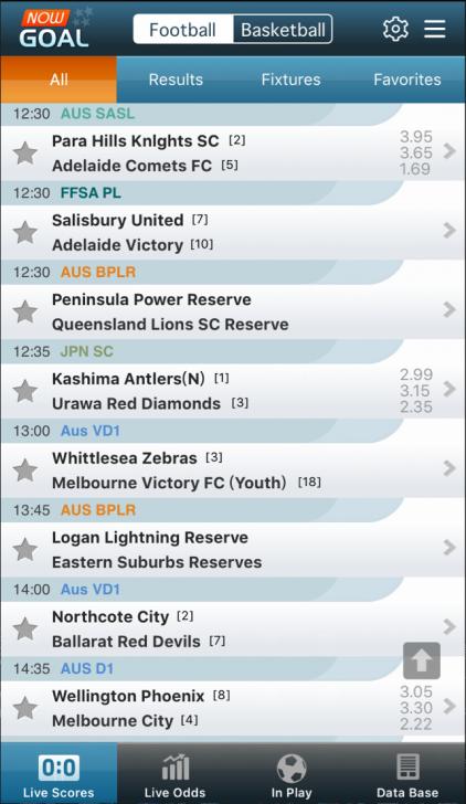 Nowgoal Livescore Odds (App ดูผลบอล เช็คผลบอลฟรี) :
