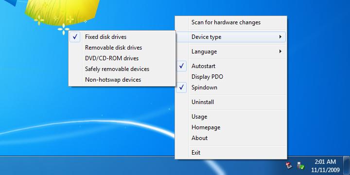 โปรแกรมถอดอุปกรณ์จัดเก็บข้อมูล HotSwap!