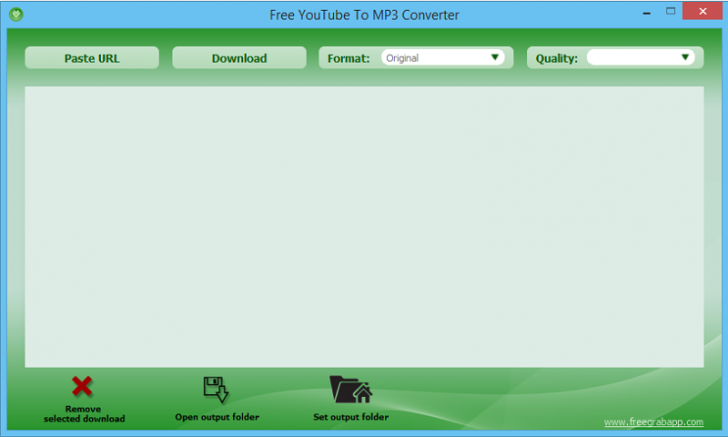 โปรแกรมโหลดเสียง Free YouTube To MP3 Converter