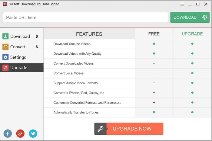 โปรแกรมดาวน์โหลดวีดีโอ Xilisoft Download YouTube Video