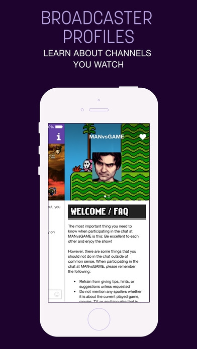 App ติดตาม live การเล่นเกมส์Twitch