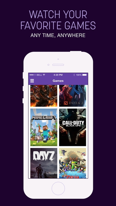 Twitch (App ติดตามการเล่นเกมส์สด Cast Game แบบ Live) :