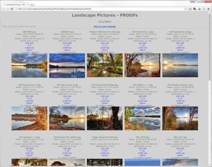 โปรแกรมแชร์ภาพถ่าย รูปถ่าย PhotoPageGen