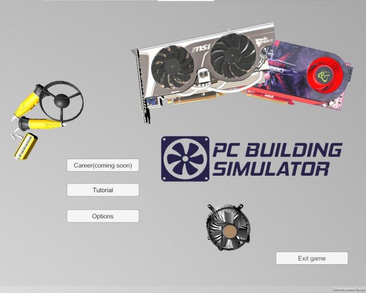 โปรแกรมสอนสร้างคอมพิวเตอร์ PC Building Simulator