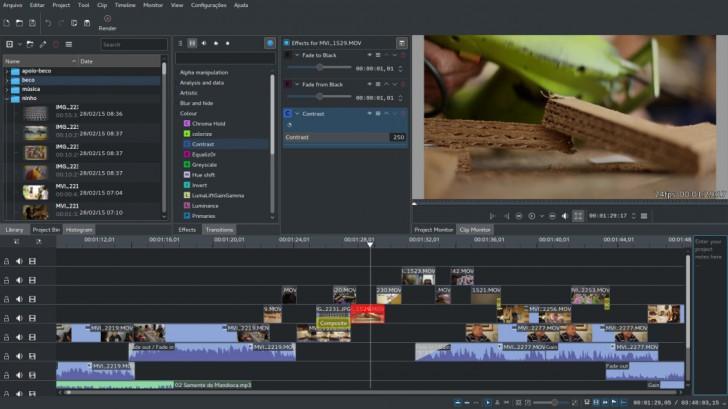 โปรแกรมตัดต่อวีดีโอ ทำคลิปวีดีโอ Kdenlive