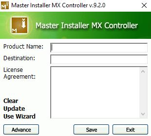 Master Installer (ตัวช่วยสร้างระบบ ติดตั้ง ของโปรแกรม) :