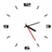 Skinny Clock (โปรแกรม นาฬิกา สวยๆ บนหน้าจอคอม)