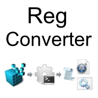 Reg Converter (โปรแกรม Reg Converter แปลไฟล์ Registry เป็นรูปแบบต่างๆ)
