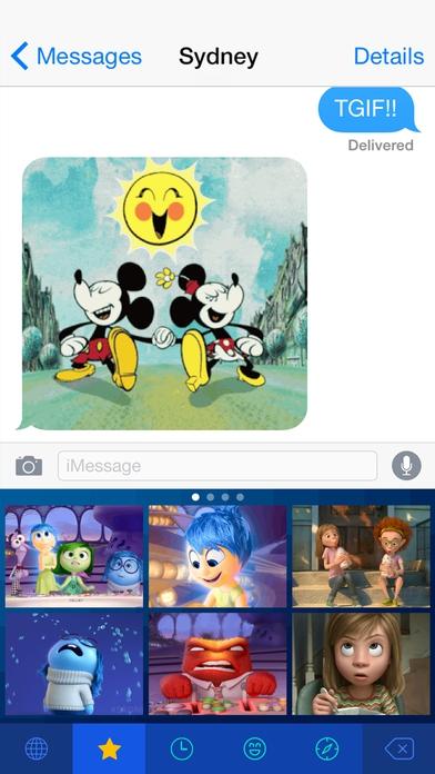 App การ์ตูนดิสนีย์ Disney Gif