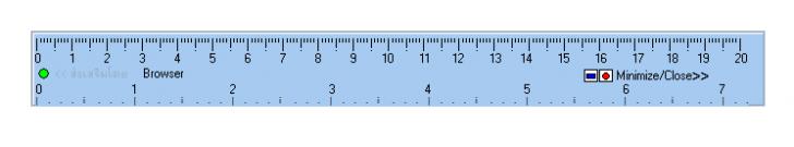 Simple Ruler (โปรแกรม Simple Ruler ไม้บรรทัด สำหรับ หน้าจอคอมพิวเตอร์ ฟรี )