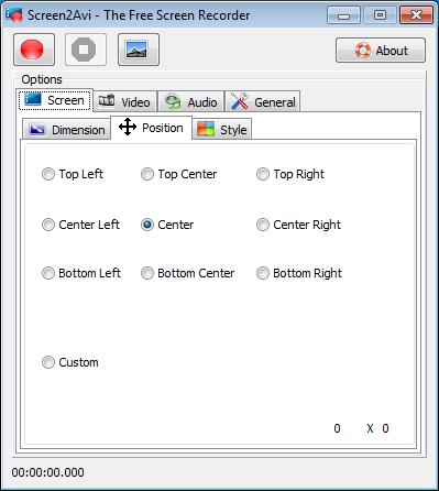 โปรแกรมอัดวีดีโอหน้าจอ Screen2Avi