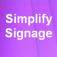 Simplify Signage (โปรแกรม Simplify Signage สร้างโฆษณา สื่อประชาสัมพันธ์ทางจอภาพ)