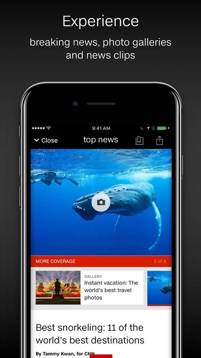 App อัพเดตข่าวสารทันโลกจากCNN
