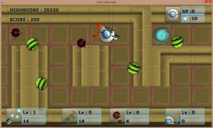 Wa The First Game (เกมส์ SPACE WAR GAME ยานรบต่อสู้บนอวกาศ) :