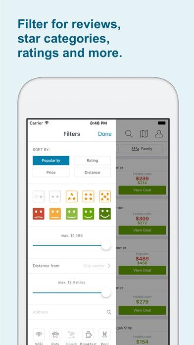 App ค้นหาโรงแรมที่พักราคาถูกTrivago