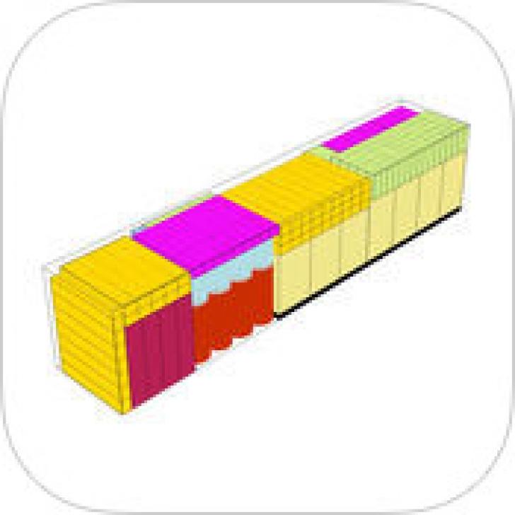 Cargo Optimizer Pro for iPad (App คำนวณการจัดวางสินค้าในตู้คอนเทนเนอร์ ลดต้นทุนจัดส่ง)