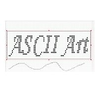 ASCII Art Studio (โปรแกรมวาดรูป แปลงรูปภาพ สไตล์ ASCII ฟรี)