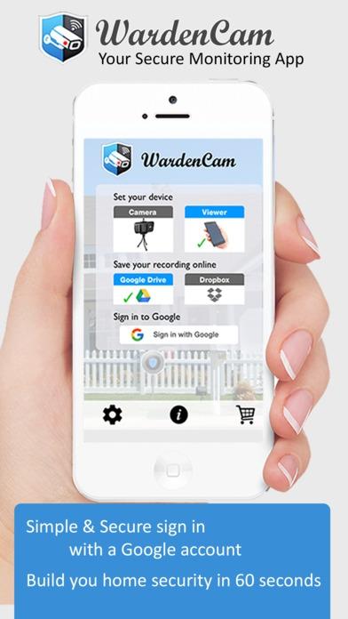App กล้องวงจรปิด WardenCam
