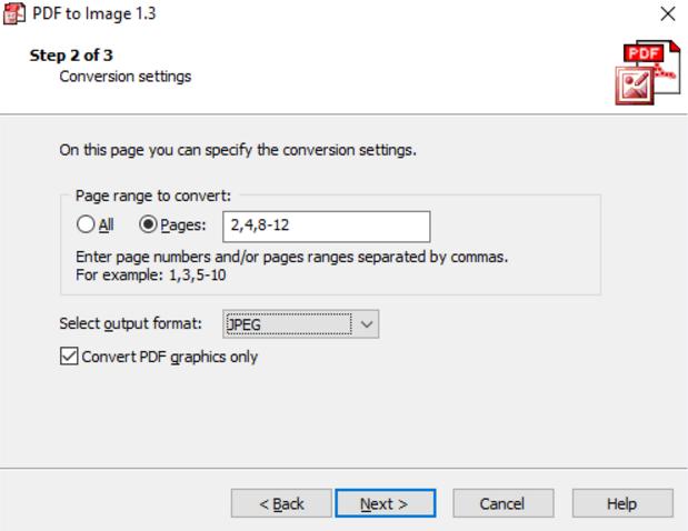 โปรแกรงแปลงไฟล์ PDF to Image