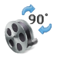 Free Video Rotator (โปรแกรม Free Video Rotator กลับรูปภาพ หมุนวีดีโอ 90 องศา ฟรี)