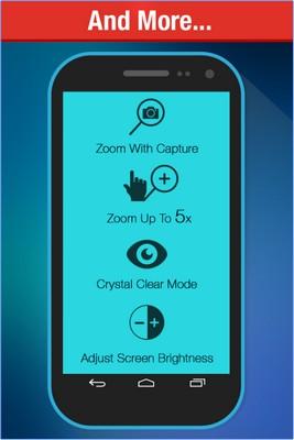 App แว่นขยายMagnifying Glass plus Flashlight