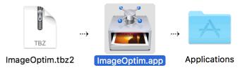 ImageOptim (โปรแกรม ImageOptim ย่อไฟล์ ย่อขนาดภาพ PNG สำหรับ Mac) :