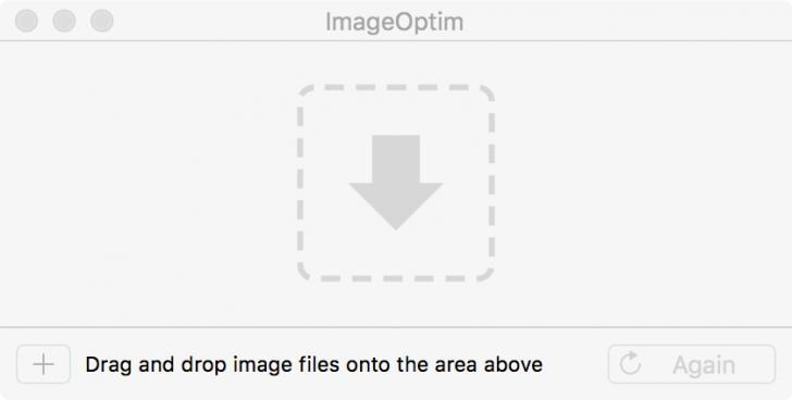 โปรแกรมย่อขนาดภาพImageOptim