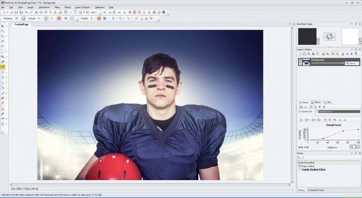 Photo Pos Pro (โปรแกรม แต่งรูป แก้ไขภาพ ใส่เอฟเฟค คล้าย Photoshop ใช้ฟรี) :