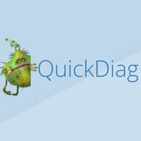QuickDiag (โปรแกรม QuickDiag ดูรายงานข้อมูลการทำงานของเครื่อง)
