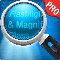 Magnifying Glass plus Flashlight (App แว่นขยายมองเห็นชัดเจน)