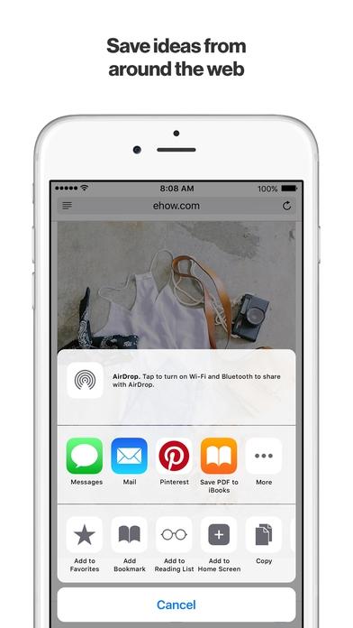 App ปักหมุดPinterest