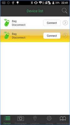 App ป้องกันของหายBluetooth iTag