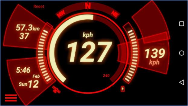 App ไมล์รถสุดเท่GPS Speedometer