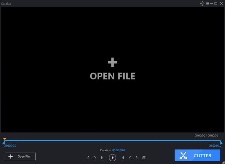โปรแกรมตัดต่อวีดีโอ CutoMe