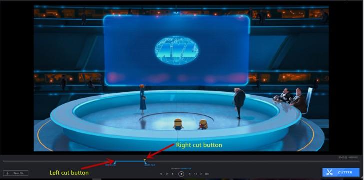 โปรแกรม ตัดต่อวีดีโอ แปลงไฟล์วีดีโอ CutoMe