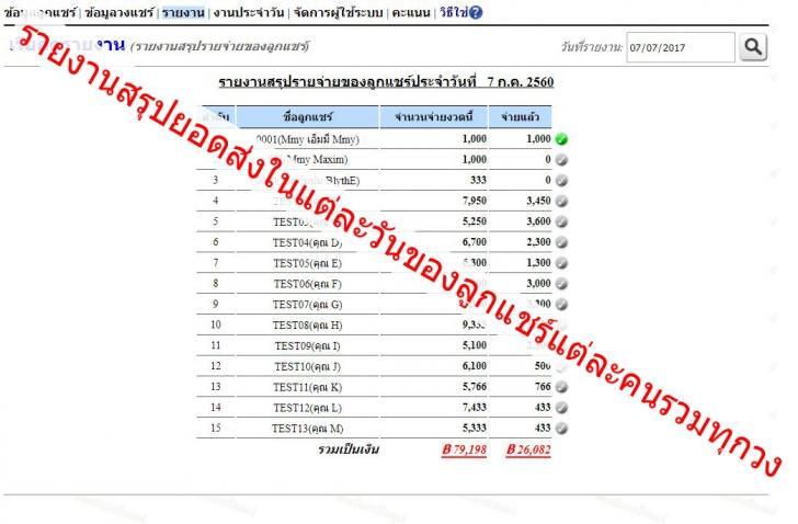 Banshare (โปรแกรม Banshare จัดการระบบบัญชีบ้านแชร์ แบบครบวงจร) :