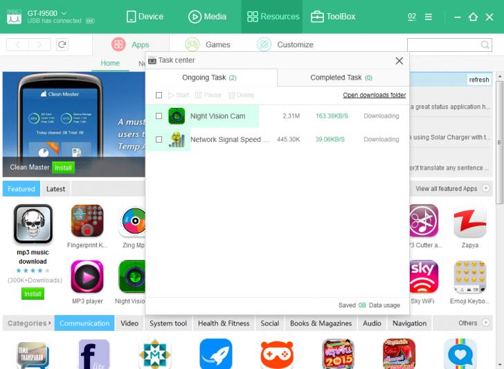 MoboPlay (โปรแกรม MoboPlay จัดการโทรศัพท์มือถือ Android และ iOS มีเมนูภาษาไทย) :