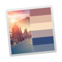Color Palette from Image (โปรแกรมดึงพาเลตต์ โทนสี จากรูปภาพ บนเครื่อง Mac)
