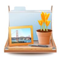 DesktopShelves (โปรแกรม DesktopShelves จัดไฟล์บนชั้นวาง จัดระเบียบโฟลเดอร์ บน Mac)