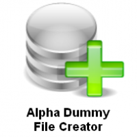 Alpha Dummy File Creator (โปรแกรมสร้างไฟล์จำลอง สารพัดประโยชน์)