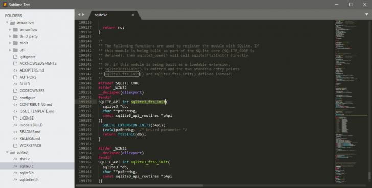 โปรแกรมเขียนโค้ด เขียนโปรแกรม Sublime Text