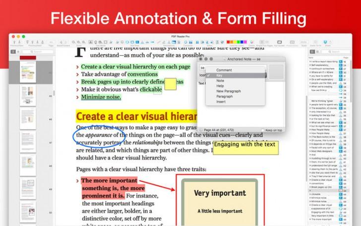 โปรแกรมเอกสารพีดีเอฟ PDF Reader Pro Free