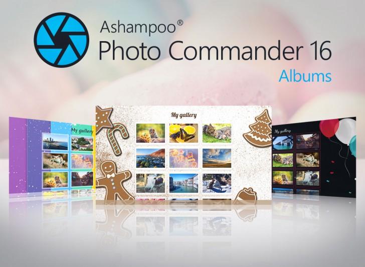 โปรแกรมจัดการรูปภาพ Ashampoo Photo Commander