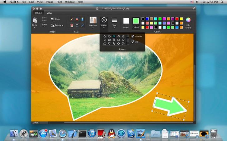โปรแกรมวาดรูป Paint X Lite