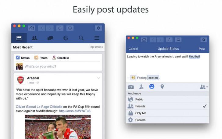 โปรแกรมเปิด ดู เข้า เล่น เฟสบุ๊คGo for Facebook